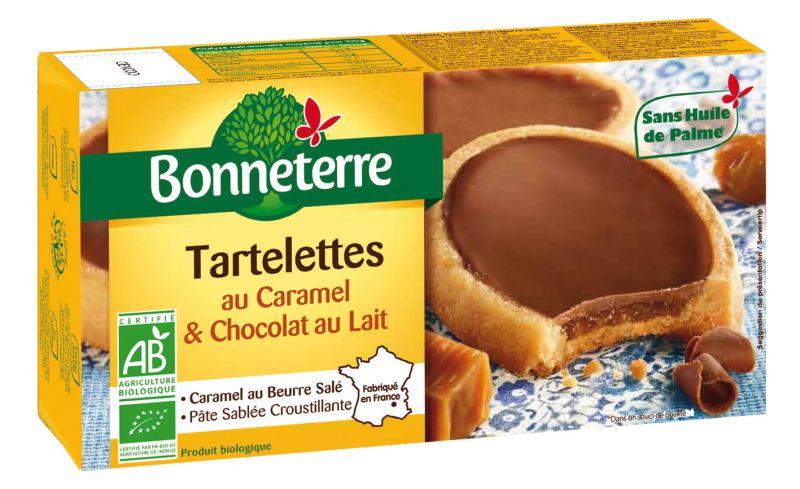 Bonneterre Tartelette chocolat lait caramel