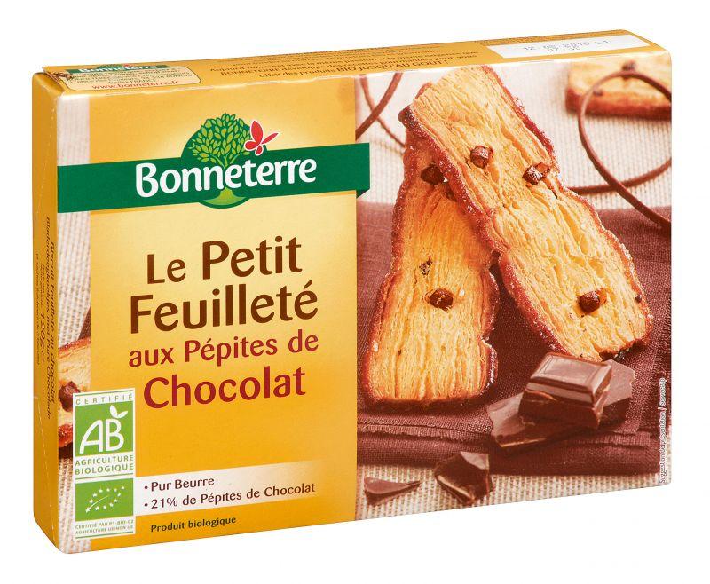 Bonneterre Le Petit feuilleté aux pépites de chocolat