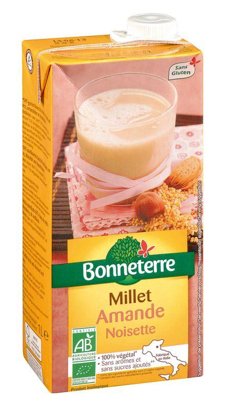 Bonneterre Boisson millet amande noisette
