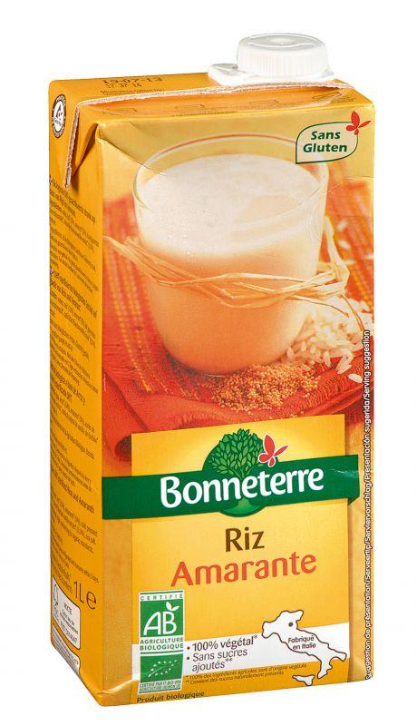 Bonneterre Boisson bio riz amarante