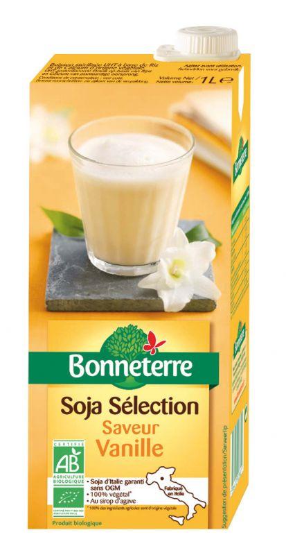 Bonneterre boisson soja vanille bio