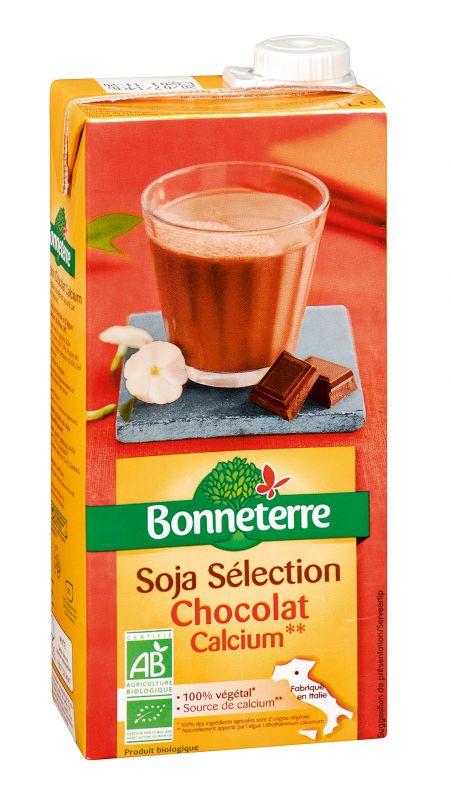 Bonneterre boisson soja chocolat bio