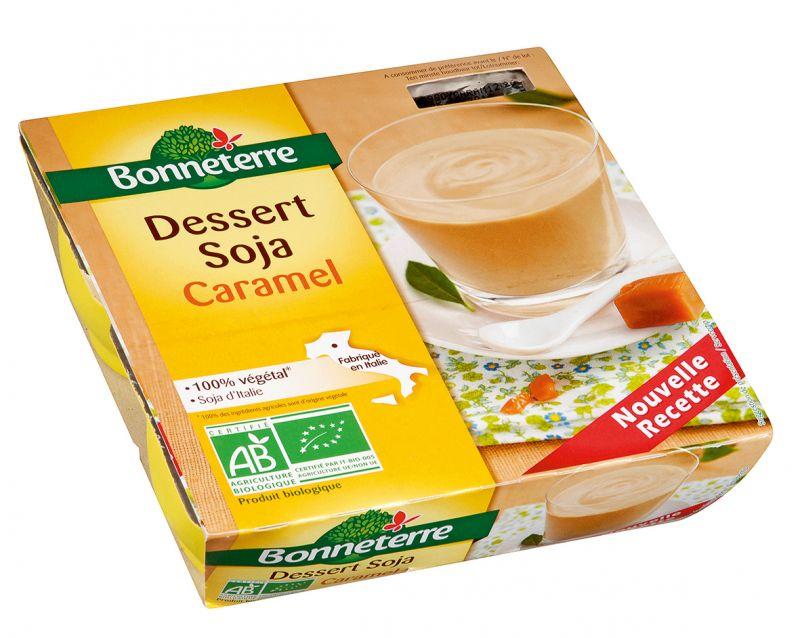 Bonneterre dessert végétal caramel bio