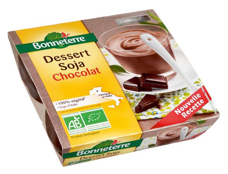 Bonneterre dessert végétal chocolat bio