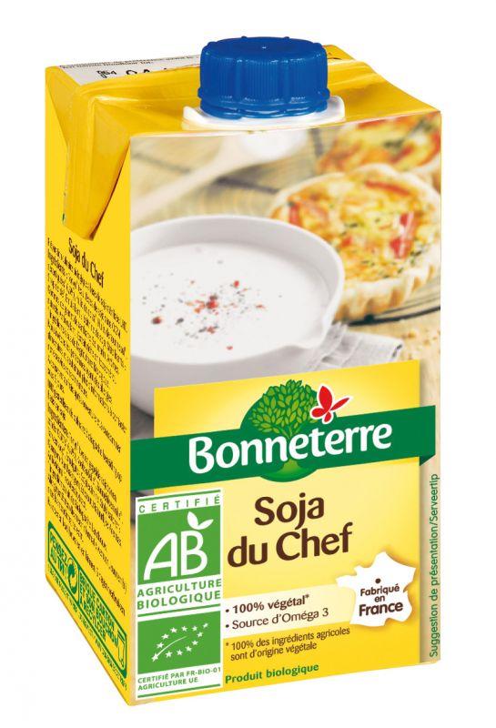 Bonneterre Soja bio du chef
