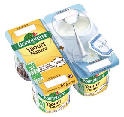 Bonneterre yaourt bio nature