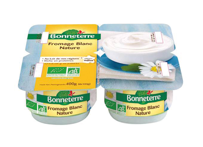 Bonneterre Fromage blanc bio