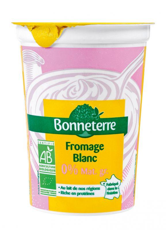 Bonneterre Fromage blanc 0% bio