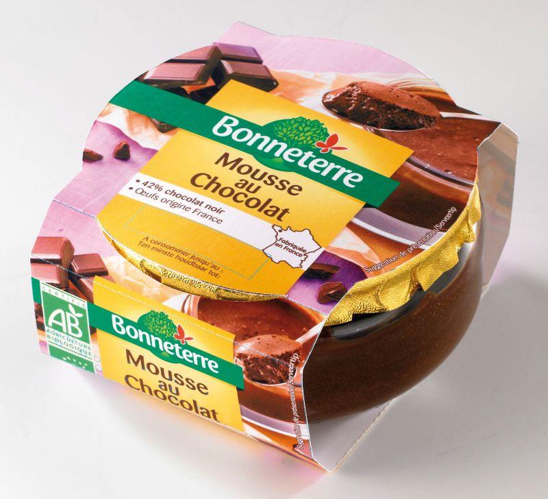 Bonneterre mousse au chocolat bio