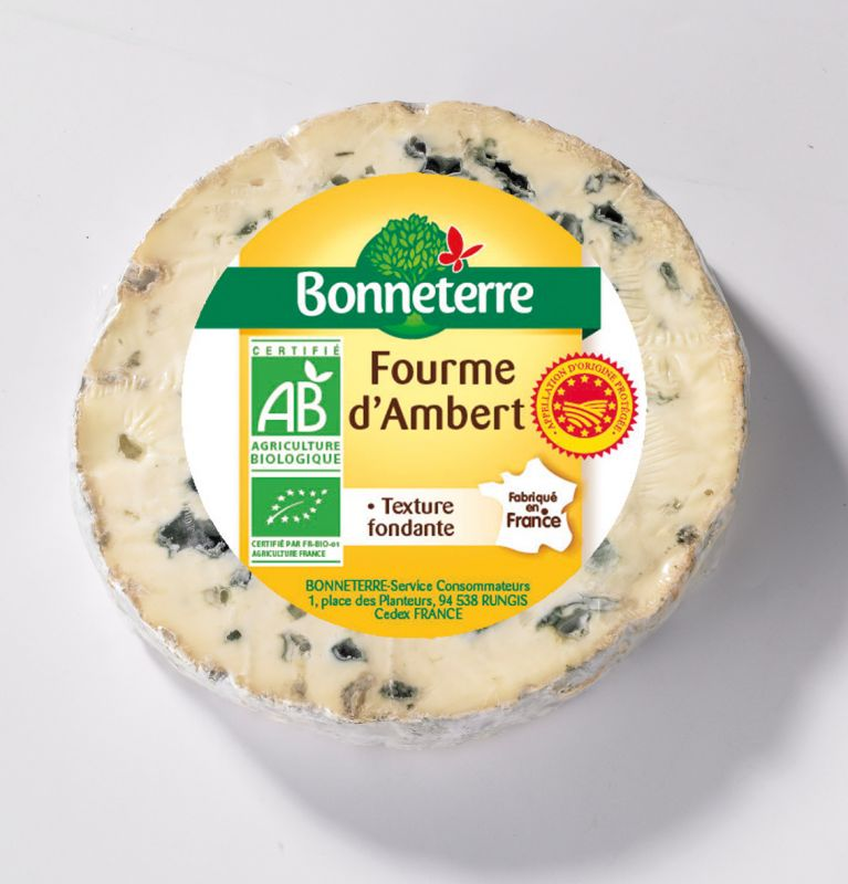 Bonneterre Fourme d'ambert aop bio