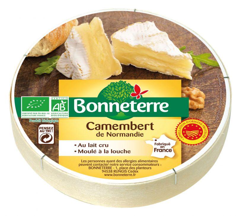 Bonneterre Camembert AOP bio