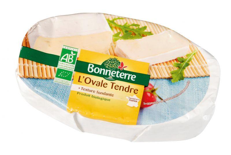 Bonneterre fromage bio ovale tendre