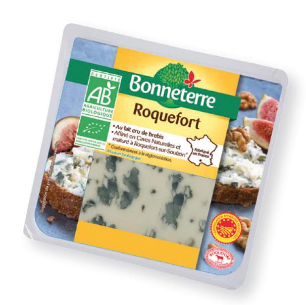 Bonneterre Roquefort AOP BIO