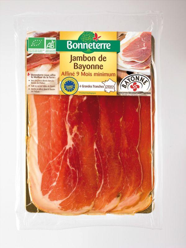 Bonneterre Jambon de Bayonne IGP bio