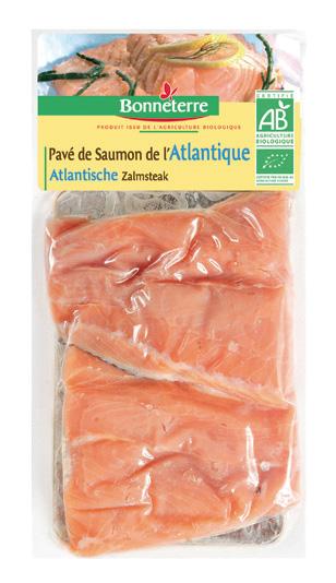 Bonneterre pavé de saumon bio