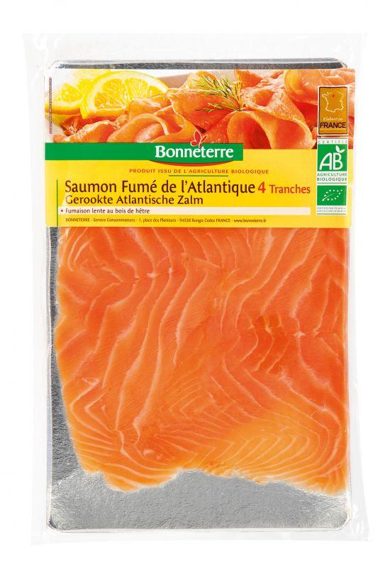 Bonneterre saumon fumé bio