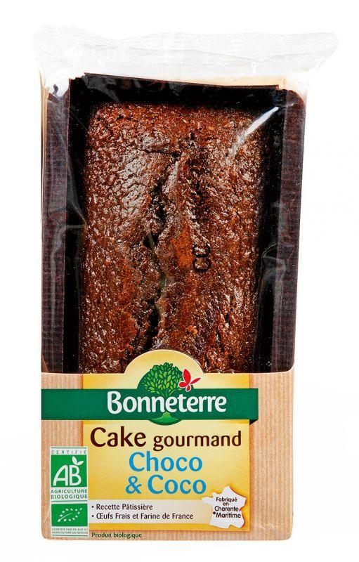 Bonneterre cake gourmand chocolat coco