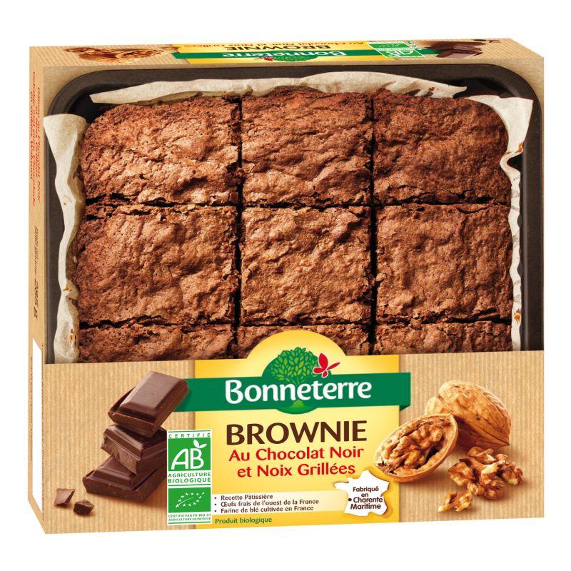 Bonneterre brownie bio aux noix