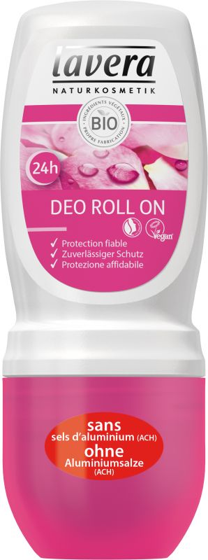 24h Deo Roll-on Rose sauvage bio