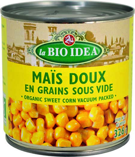 Maïs doux en grains La Bio Idea