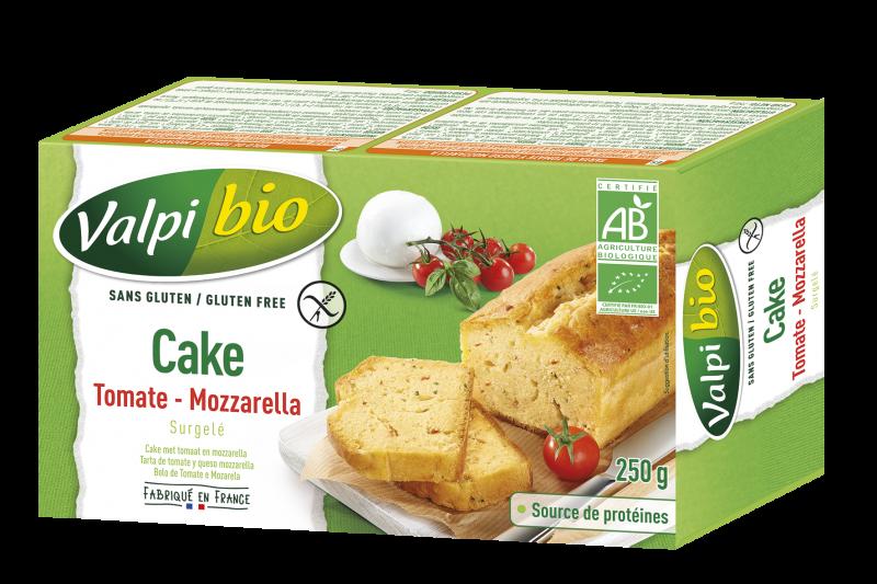 CAKE TOMATE – MOZZARELLA SURGELÉ VALPIBIO