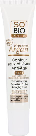 Contour yeux et lèvres anti-âge, Précieux Argan