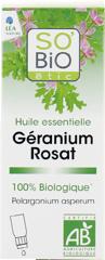 Huile essentielle Géranium rosat bio