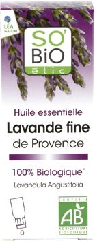 Huile essentielle Lavande fine de Provence bio