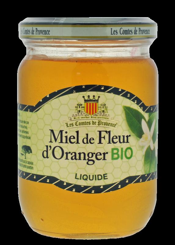 Miel de Fleurs d'Oranger BIO (liquide)