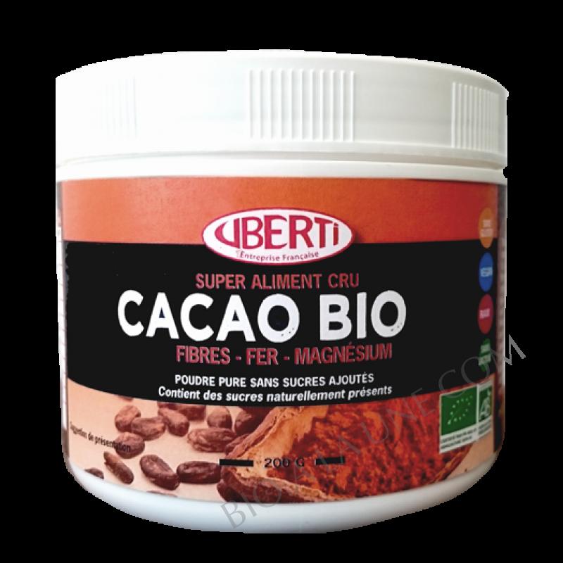 Poudre de Cacao BIO - CRUBERTI'S