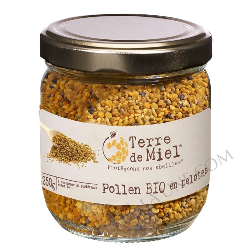 Pollen bio en pelotes Espagne