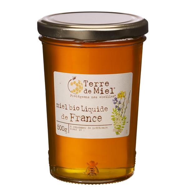 Miel toutes fleurs liquide bio France