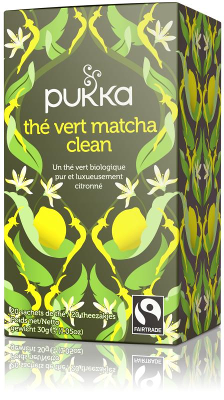 Thé Vert Matcha Clean