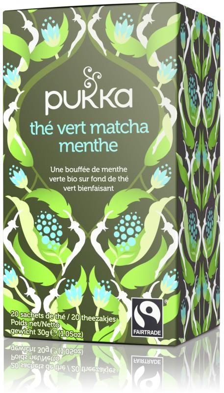 Thé Vert Matcha à la Menthe