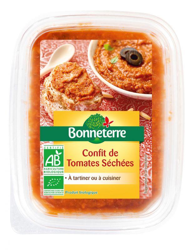 Confit de tomates séchées bio
