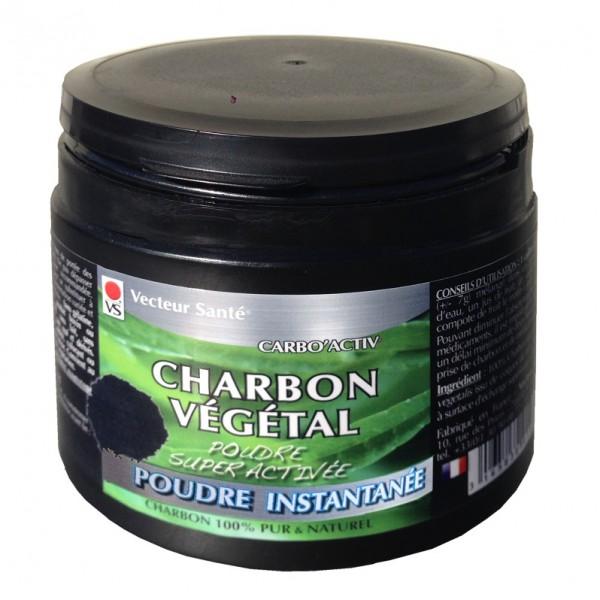 Charbon Végétal Super Activé Poudre instantanée