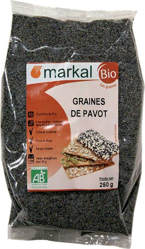 Graines de pavot Markal