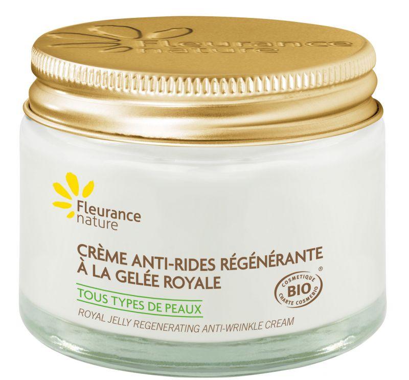 Crème anti-rides regénérante à la gelée royale