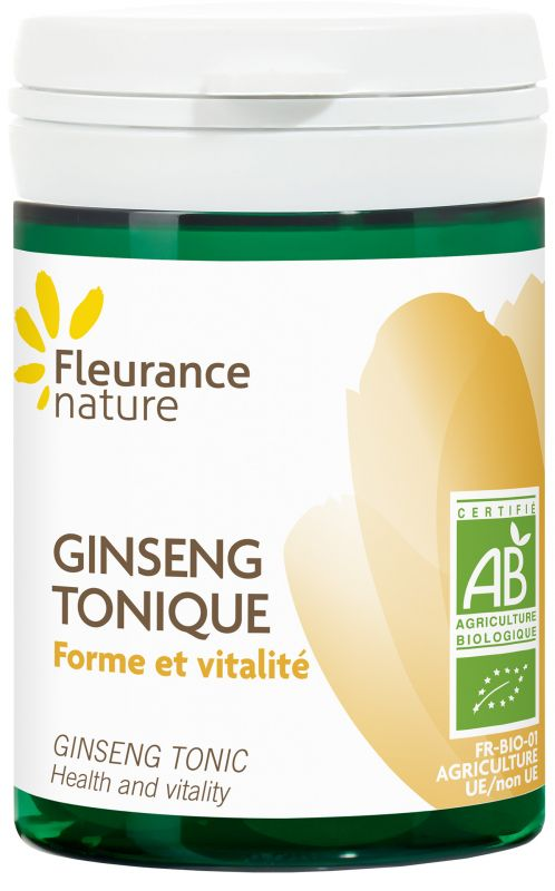 Ginseng tonique bio