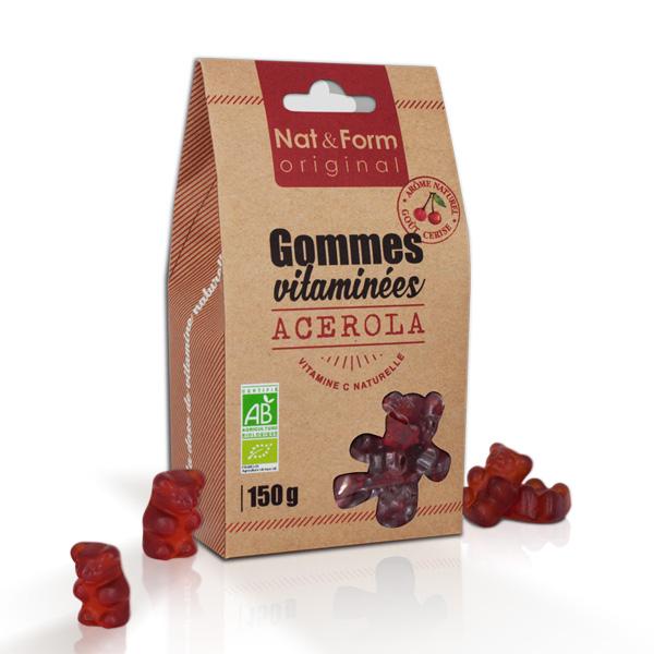 Gommes vitaminées Acérola bio