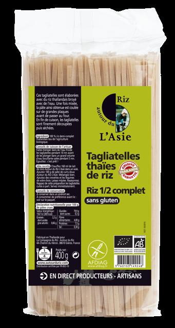 Tagliatelles Thaïe de riz - 1/2 complet