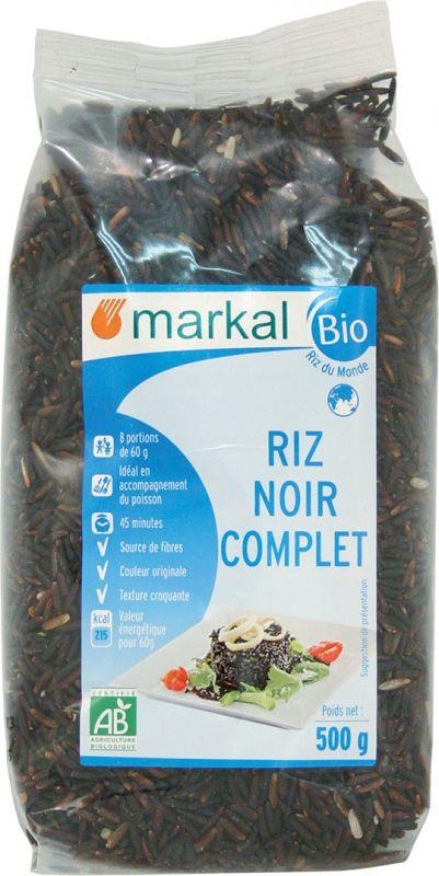 Riz noir complet Markal