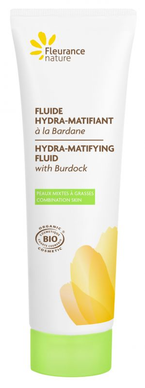 Fluide hydra-matifiant