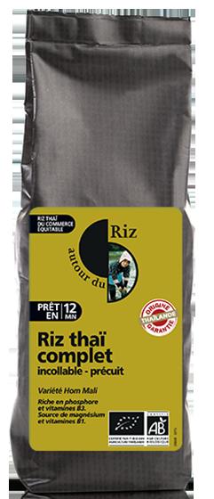 Riz thaï complet étuvé cuisson rapide