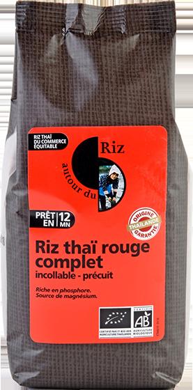 Riz thaï rouge complet étuvé cuisson rapide