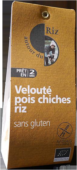Velouté pois chiches - riz