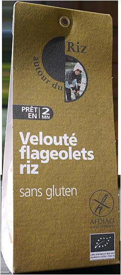 Velouté flageolets - riz