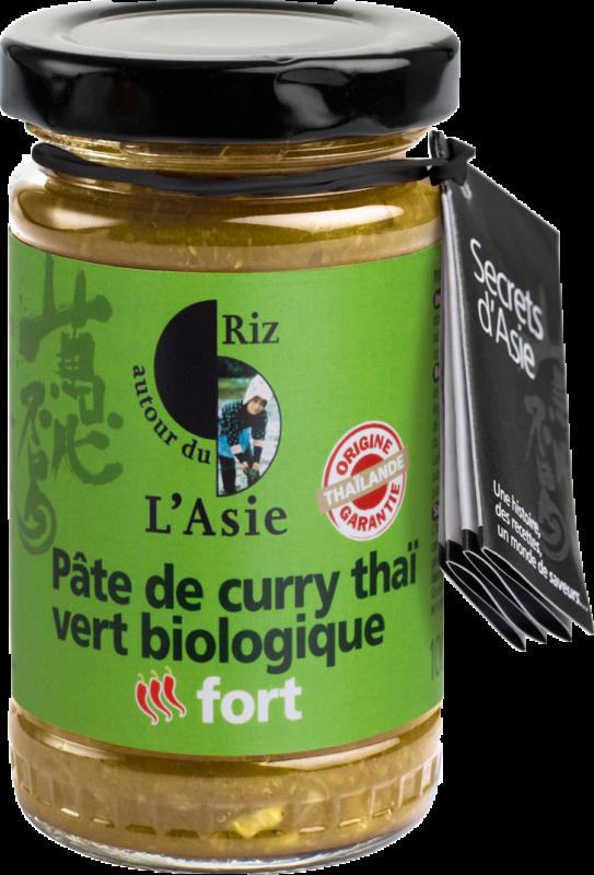 Pate de curry vert FORT