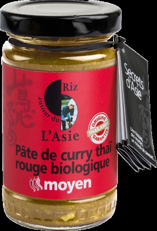Pate de curry rouge MOYEN