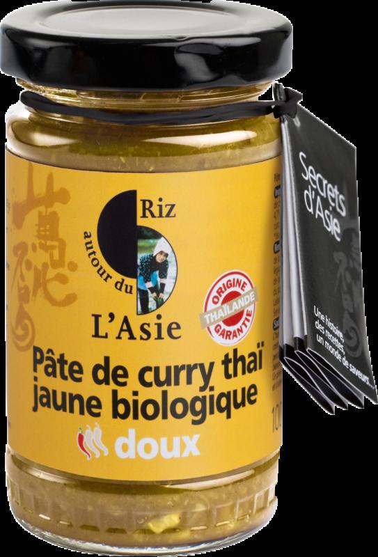 Pate de curry jaune DOUX